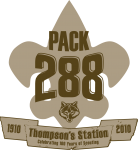 Pack 288 T-Shirt Logo